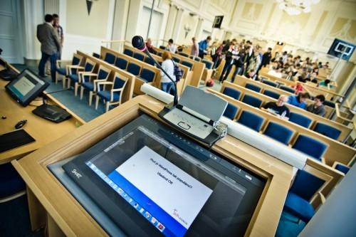 Konference Opava, návštěvníci v aule