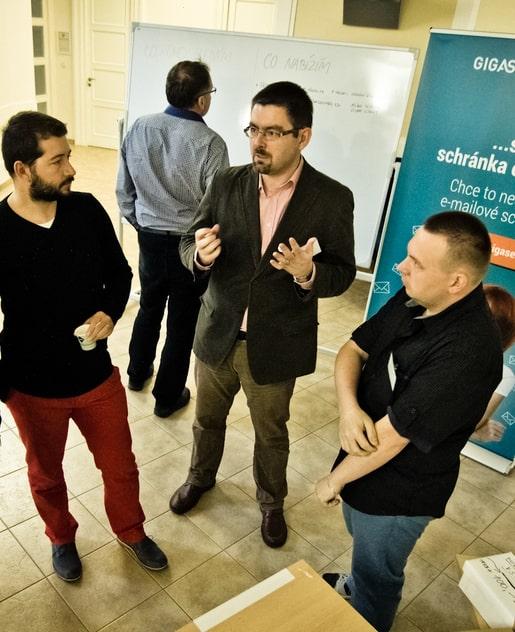 Druhý ročník WordPress konference Opava - Vlastimil Ott, Zdeněk Stoklasa