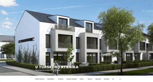 web projektu U Turského rybníka