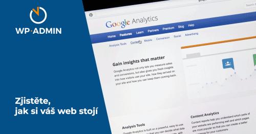 Google Analytics a další nástroje na měření
